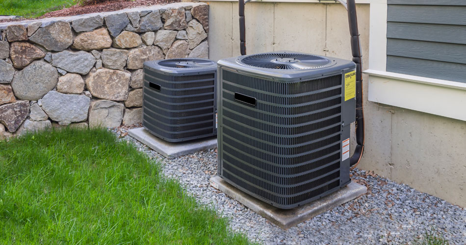 HVAC Units Ready for 4 Point Inspection